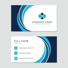 Business card template Vector - Free Vector Art and Graphics