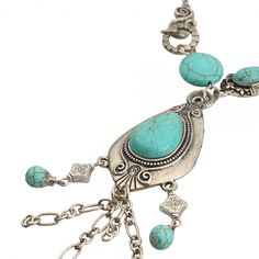 'Marvelous Turquoise necklace ' is going up for auction at 11am Sat, Dec 1 with a starting bid of $10.