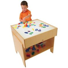 ChildSize LED Light Table with Storage ** Be sure to check out this awesome product. (This is an affiliate link)