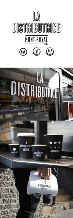 La Distributrice Branding