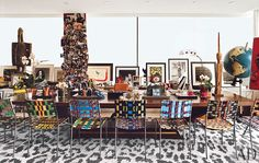 DVF quite an art collection