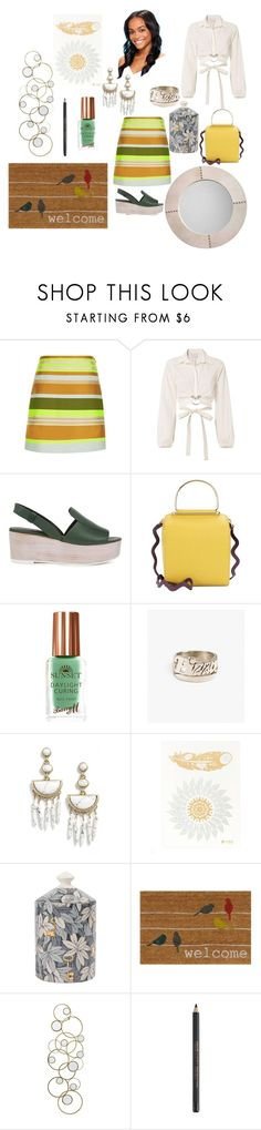 """""""Untitled #351"""" by yasm-ina ❤ liked on Polyvore featuring Jaeger, Cinq à Sept, TIBI, Roksanda, Snash Jewelry, BaubleBar, Fornasetti, John Lewis and Jamie Young"""