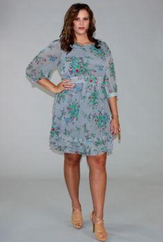 Dusk to Dawn chiffon dress.