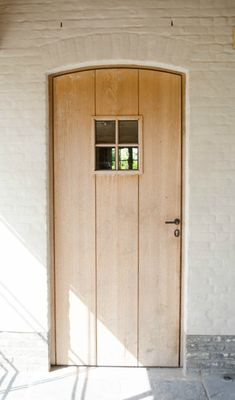 Wood In The Garden And On The Terrace: 53 Breathtaking Example … Doors, Exterior Doors, House Exterior, House Inspiration, Home Interior Design, Types Of Doors, Windows And Doors, Traditional Doors, Door Steps