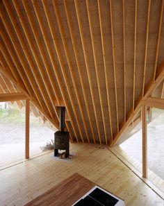 "Kengo Kuma, Y - Hutte, Eastern Japan, 2006. ""A tentative modern version of Laugier's 'Primitive Hut'"""