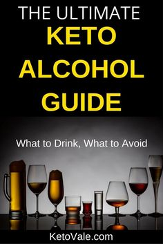 Keto Alcoholic Drinks Guide