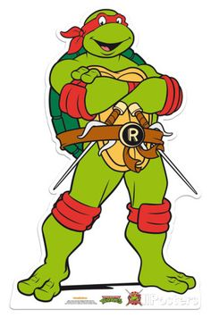 Raphael - Teenage Mutant Ninja Turtles Cardboard Cutouts - AllPosters.co.uk