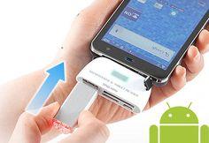 lector tarjetas memoria usb android 4.0