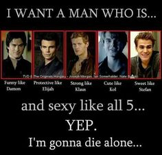 Before you mention Kol in this row of sexyness... take Enzo or Kai! Kol is so NOT cute!!