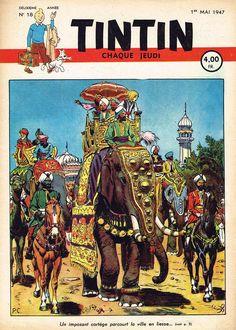 Le Journal de Tintin - Edition Belge - N° 32 - 1947-18 - Jeudi 1er Mai 1947 - Couverture : Paul Cuvelier