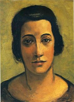 ANDRE DERAIN. Portrait of Madame Carco.