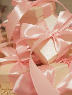 Pink Satin Bows