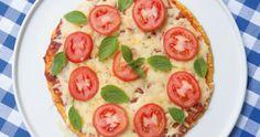 Massa de pizza sem carboidrato