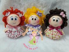 Fofucha Sachê - YouTube Diy Crafts Hacks, Diy And Crafts, Homemade Dolls, Clothespin Dolls, Diy Doll, Fabric Dolls, Crochet Dolls, Teddy Bear, Toys