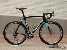 Geraint Thomas (Sky) piloted this Pinarello Dogma 65.1 Think2 to 8th place at this year's Ronde van Vlaanderen