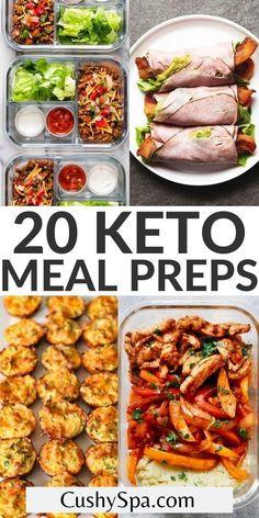 Easy Healthy Meal Prep, Easy Healthy Recipes, Lunch Recipes, Easy Meals, Dinner Recipes, Soup Recipes, Keto Snacks, Healthy Delicious Meals, Healthy Lunch Meals