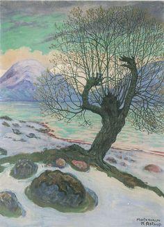Artist: Nikolai Astrup (Norway 1880-1928) Title: Martzmorgen