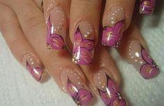 Pakistani Bridal Nail Art Designs 2013 For Women 003 Beautiful Nail Designs, Beautiful Nail Art, Gorgeous Nails, Fancy Nails, Trendy Nails, Diy Nails, Cute Nail Art, Cute Nails, Bridal Nail Art