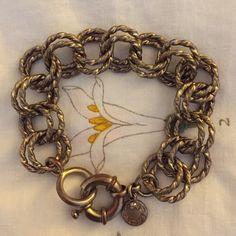 SALE Jcrew Gold Chain Bracelet Gold brass chain bracelet from Jcrew. Pre-owned in good condition. J. Crew Jewelry Bracelets