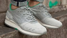"""The size? x Asics Gel-Lyte III """"Tsavorite"""" collab is up for grabs in a nice run of sizes at Villa for $40 off retail ..."""