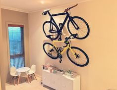 Hang your bikes or make them pay rent.
