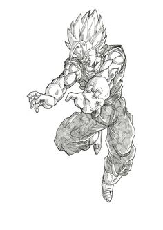 Super VEGETTO by bloodsplach on DeviantArt