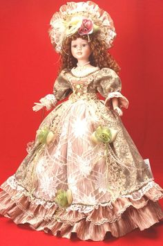 Porcelain Doll, love her outfit!