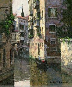 Xiao Song Jiang, 1955 | En plein air /Palette Knife painter | Tutt'Art@ | Pittura * Scultura * Poesia * Musica |