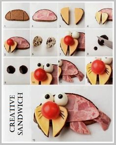 Creative sandwich - how to