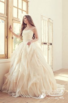 Cheap gown supplier, Buy Quality light wedding gowns directly from China gowns for big women Suppliers: Ball Gown Wedding Dresses Long 2016 Sexy Strapless Backless Light Pink Organza vestido de noiva Plus Size Bride Bridal Gowns Dream Wedding Dresses, Bridal Dresses, Wedding Gowns, Modest Wedding, Bridal Veils, Party Dresses, Pnina Tornai, Wedding Attire, Dream Dress