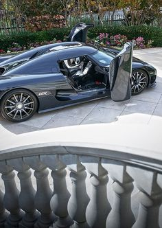 Koenigsegg CCX. This is also the same kind of car seen on the movie fast five