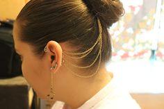 Stuff Miki Eats & Makes: DIY Hair Clip Ear Cuff!