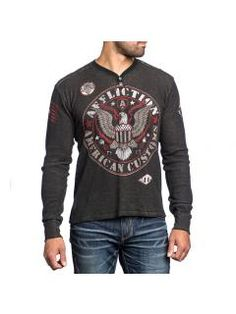 Men sided shirt Affliction Highway Patrol