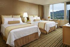 Diamond Head View Guest Room #Hawaii #Waikiki #AquaHotels