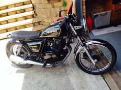 Suzuki GN250 Cafe Racer Brat Style in Warners Bay, NSW | eBay