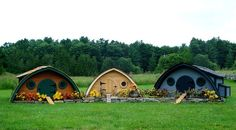 Hobbit Hole Chicken Coop Inspired by J.R.R. Tolkein's The Hobbit and Lord of the Rings