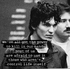 "Quote by Richard Ramirez. Fact: According to a former chief of the FBI's Elite Serial Crime Unit, ""A very conservative estimate is that there are between 35 and 50 active serial killers in the United States"" at any one time."