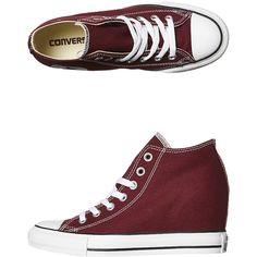 Converse Chuck Taylor All Star Lux Wedge Hi Shoe ( 72) ❤ liked on Polyvore 60170470e
