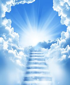 Animated Stairway To Heaven gif Heaven Pictures, Heaven Images, Heaven Tattoos, Prophetic Art, Angels In Heaven, Relaxing Music, Belle Photo, Stairways, Holy Spirit