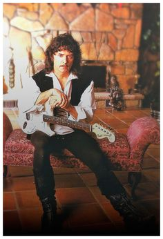 """Ritchie Blackmore """"The Renn & Roll"""" Minstrel Blackmore's Night Great Artists, Music Artists, Tommy Bolin, Roger Glover, Blackmore's Night, Jon Lord, Psychedelic Bands, Joe Cocker, Joan Baez"""