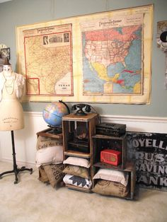 DIY Craft Projects organize organization - Trash to Treasure - Architectural Salvage