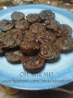 Chocolate Brownie Bites  #OhBiteme