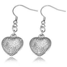 5073a4923 LOVE HEART DROP HYPOALLERGENIC EARRINGS. Ideal for that special Valentines  Day gift! Valentine Special