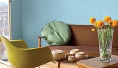 Vert d'eau, gris ardoise, bleu pastel, rose poudré... Les couleurs ont le vent en poupe pour relooker la maison. En total look, mixée ou par touches, la peinture s'invite dans votre intérieur. Découvrez 14 photos de peintures tendance sélectionnées par la rédaction pour booster la déco de votre intérieur.