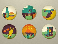 Summer icons festivals