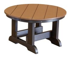 """Measuring 31 1/2"""" round, the Sidra Outdoor Conversation Table provides a large, durable surface for your outdoor living and entertaining space."""