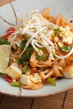 Crispy Tofu Pad Thai  - looks like a lot of work, but pad thai is almost always worth it.