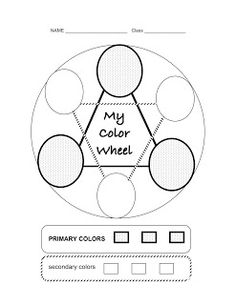 Printable Color Wheel  Mr Printables For My Girl Who Loves Every
