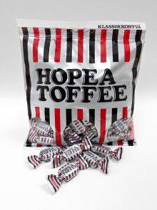 Hopea Toffee (Liqourice) by Cloetta