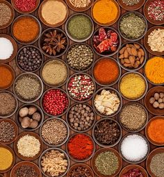 Spices Wall Mural | Food & Drink Wall Murals | Wallpaper Ink